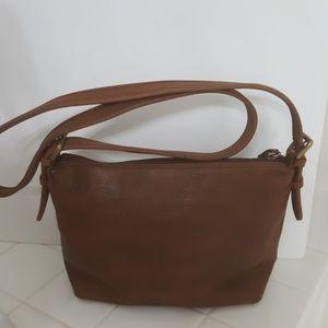 Vintage Leather CO bag